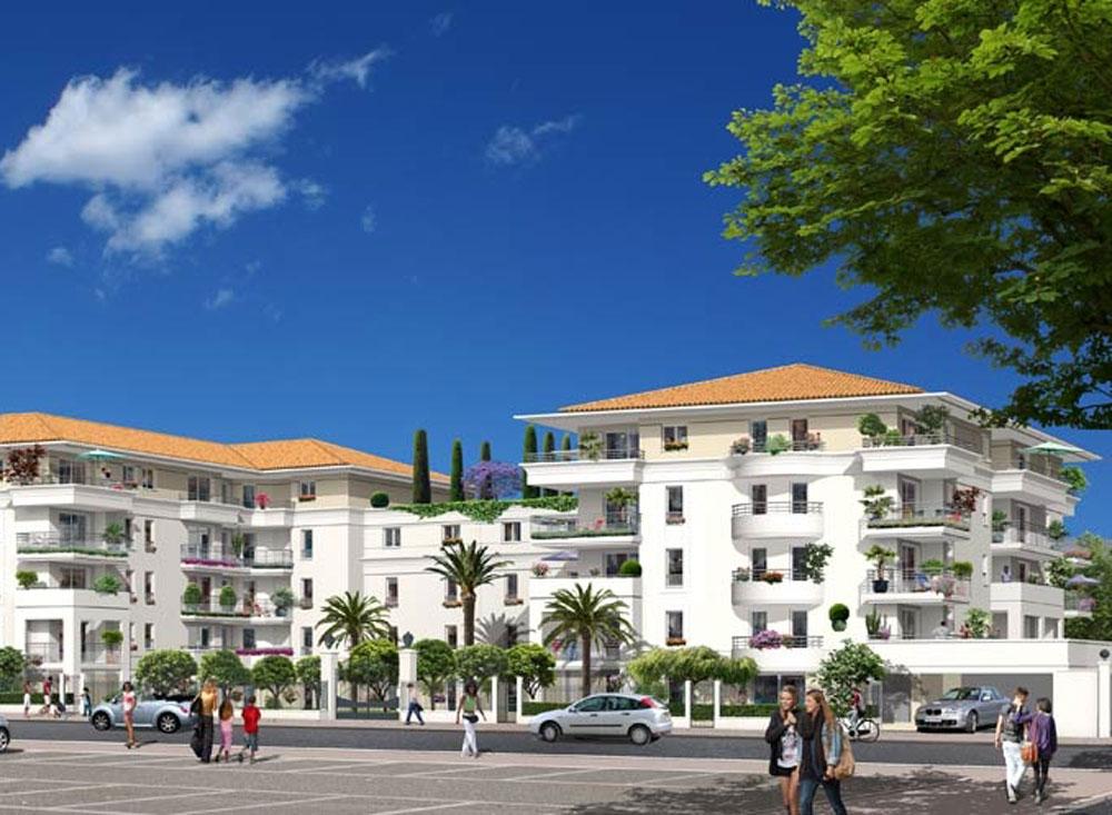 arteo programme neuf nice 146 logements neufs. Black Bedroom Furniture Sets. Home Design Ideas