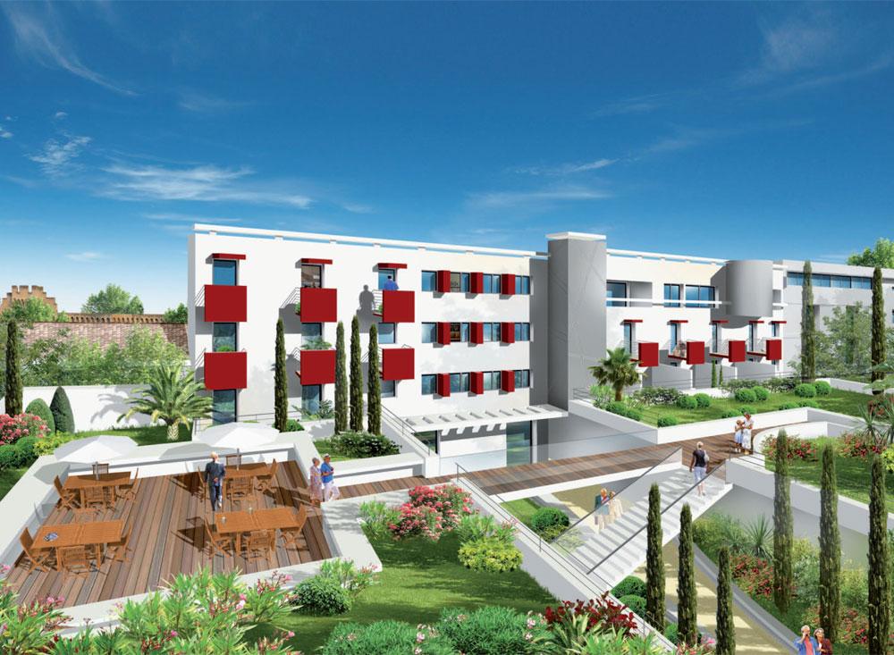 le clos des remparts programme neuf avignon 107 logements neufs. Black Bedroom Furniture Sets. Home Design Ideas