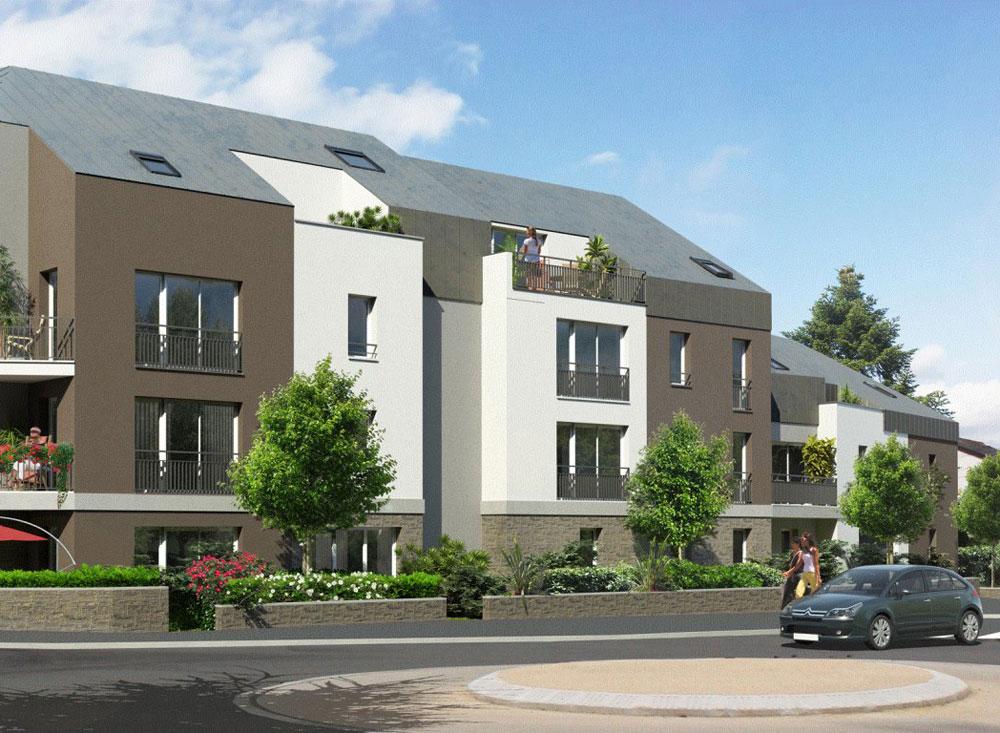 Le cottage programme neuf nantes 16 logements neufs for Programme logement neuf