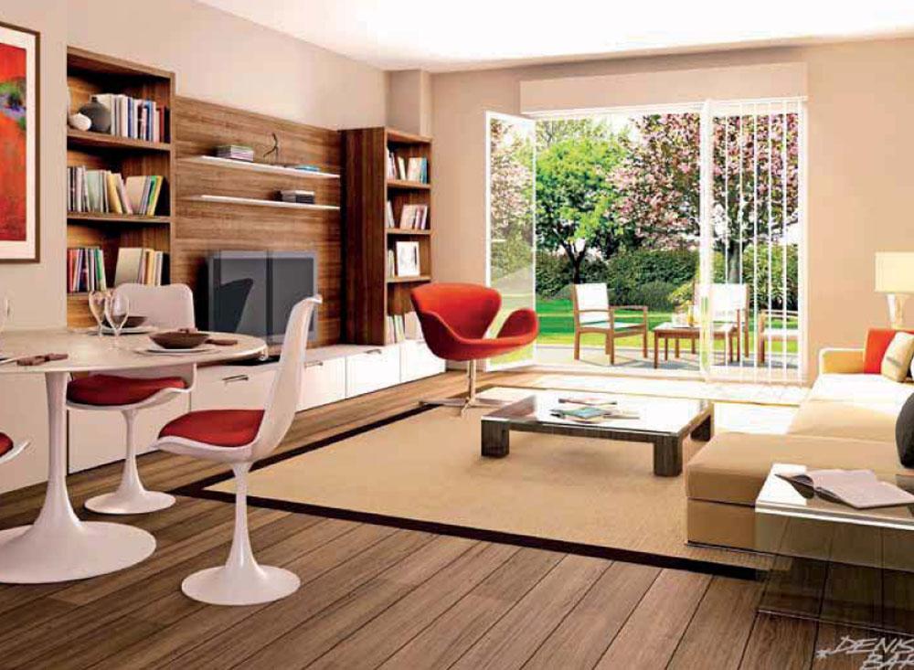 Les jardins d arabella programme neuf rosny sous bois for Deco appartement t4