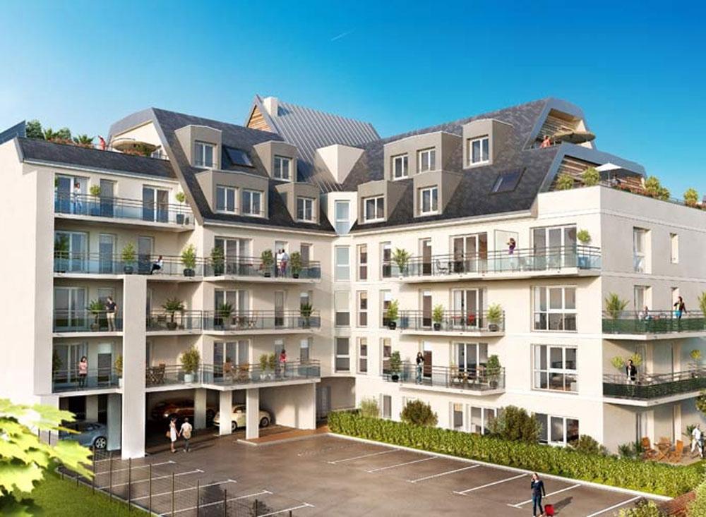 Programme neuf rouen villa des 2 rivi res for Programme immobilier rouen