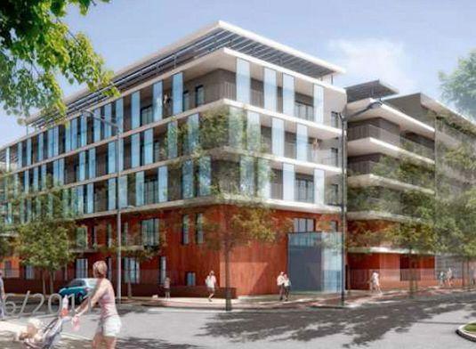appartement neuf t3 n f4307 de m toulouse pont des demoiselles montaudran la terrasse. Black Bedroom Furniture Sets. Home Design Ideas
