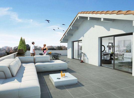 Programme neuf bayonne les terrasses de lauga - Piscine de lauga bayonne ...