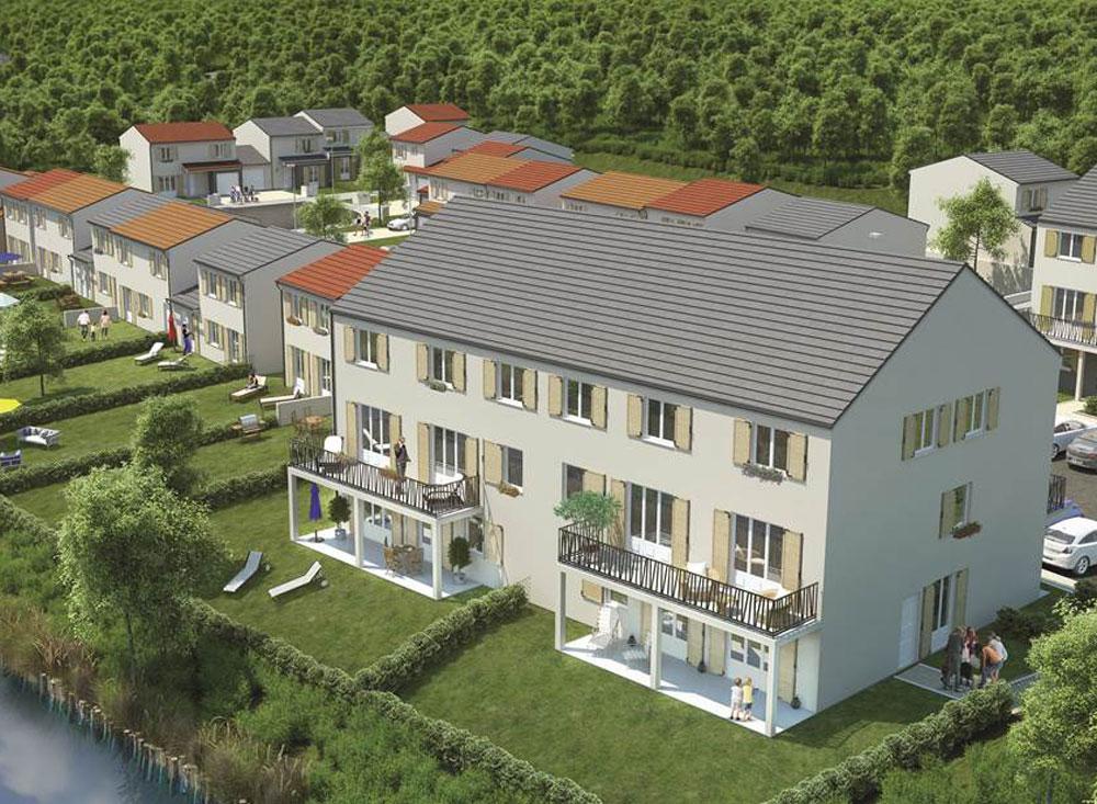 Les terrasses de l ourcq programme neuf villenoy for Programme jardin