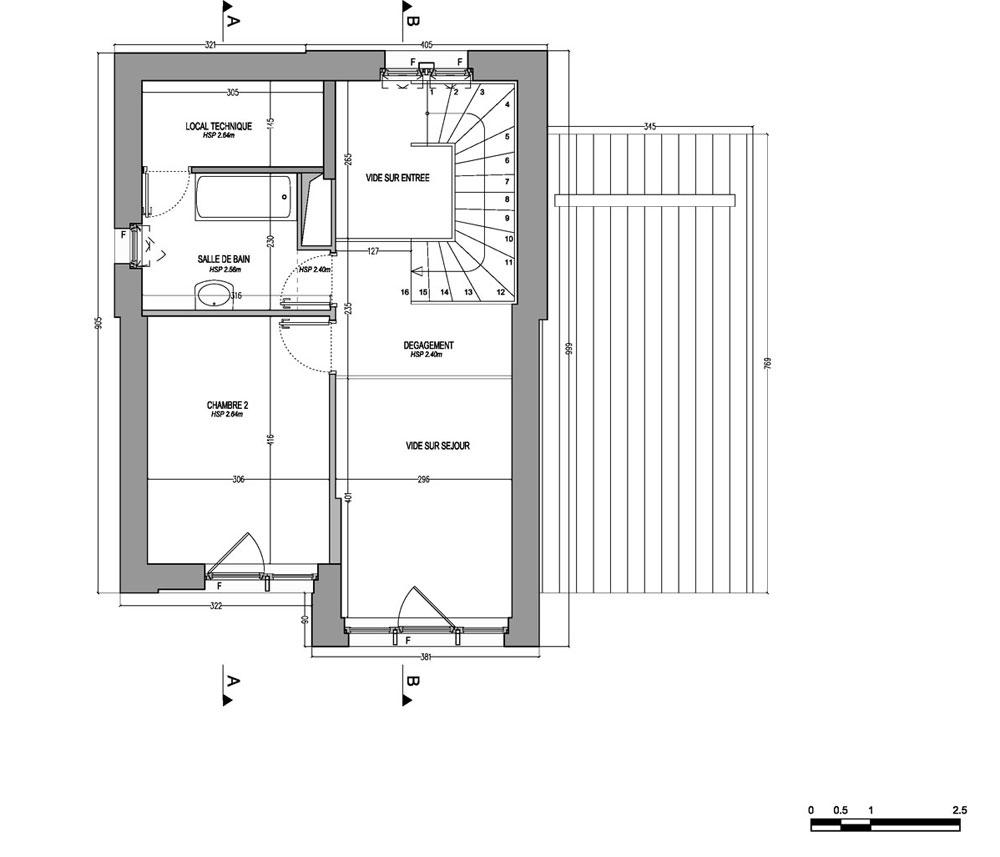 maison n 01m009 les lodges t3 de m chanteloup en brie. Black Bedroom Furniture Sets. Home Design Ideas