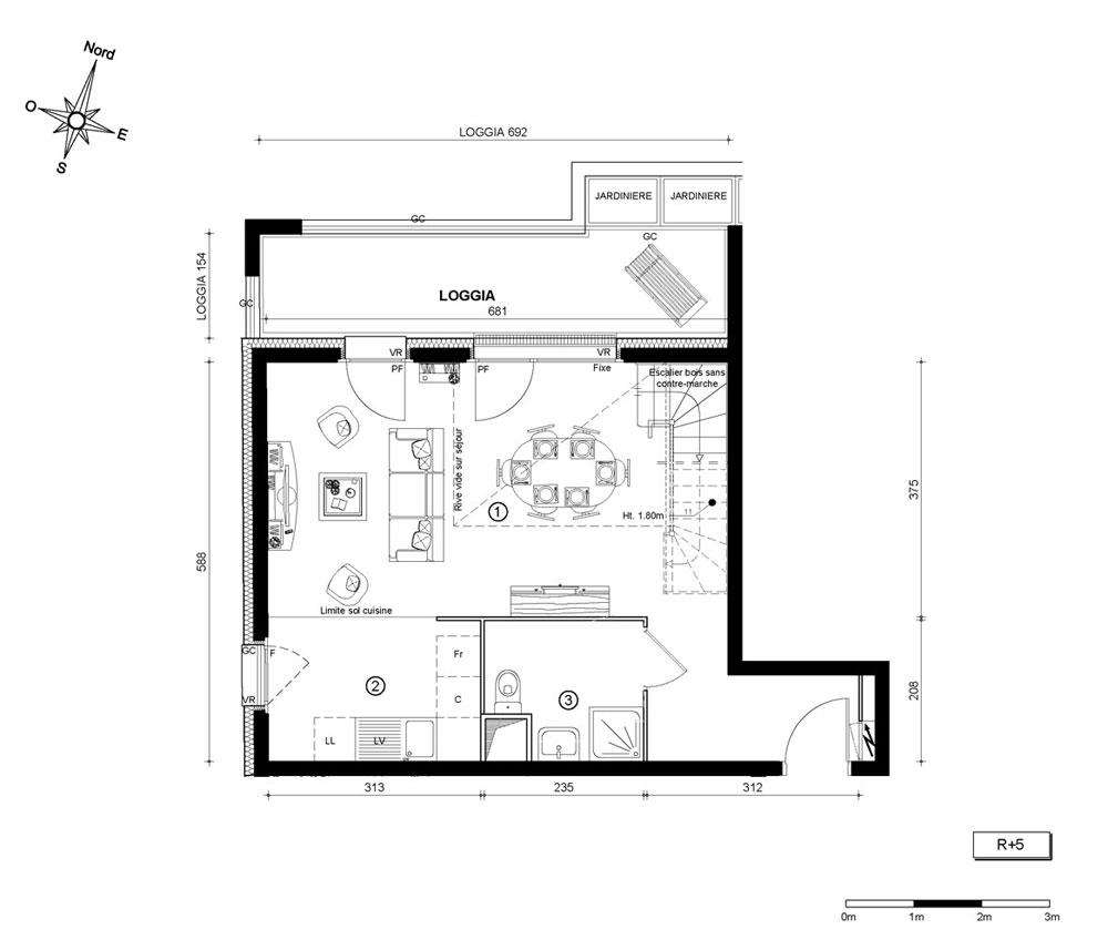 Duplex N 509 M Im T3 De M Marseille 2e