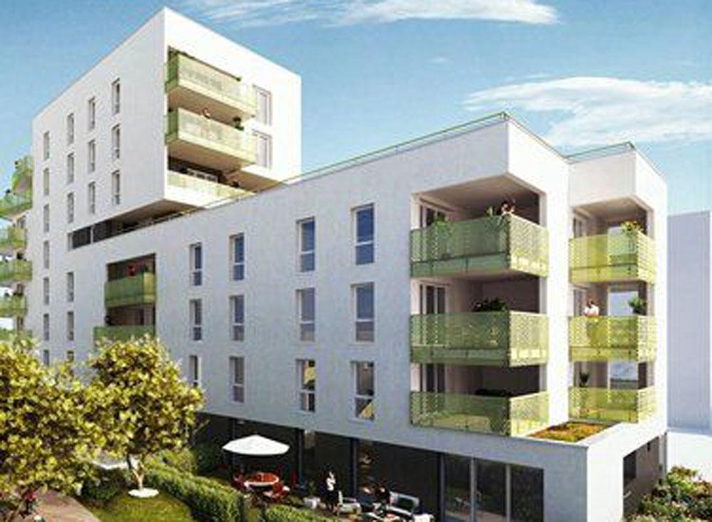 Achat appartement neuf rennes beauregard for Achat maison rennes