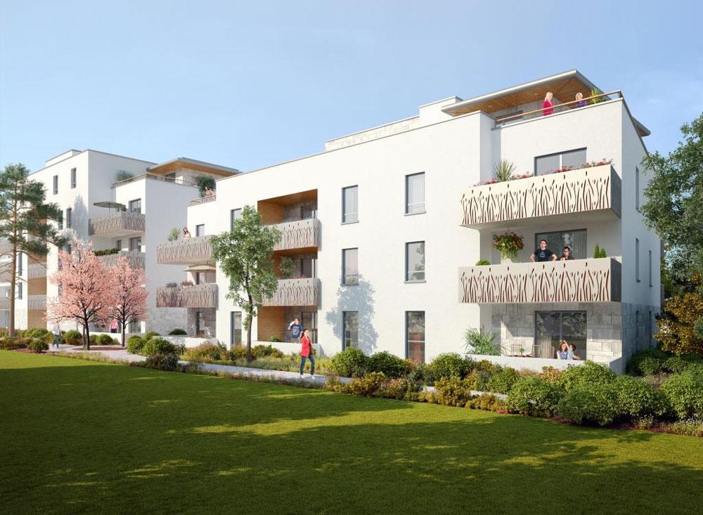 R sidence abaritz programme neuf anglet for Residence neuf