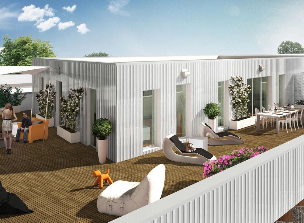 Trendy chartrons programme neuf bordeaux 78 logements for Appartement bordeaux chartrons t2