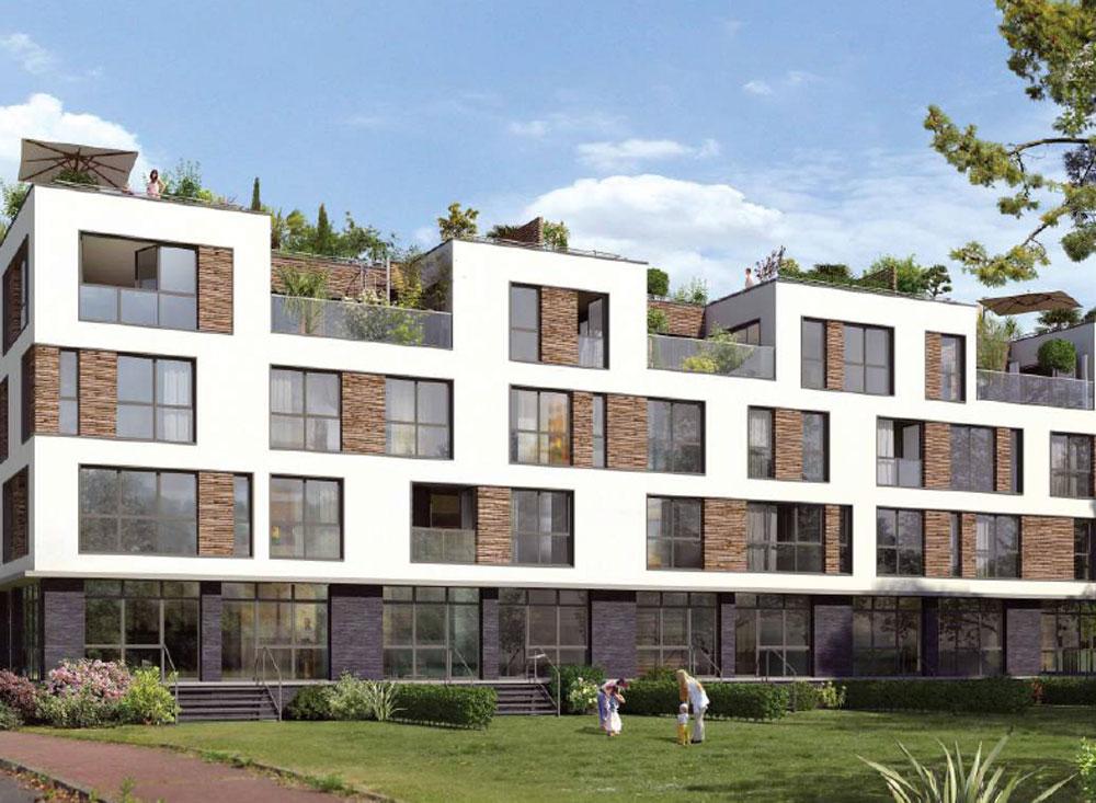 Belle rive programme neuf rueil malmaison for Programme immobilier
