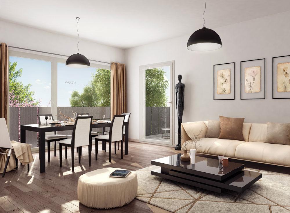 urban steel programme neuf villenave d 39 ornon. Black Bedroom Furniture Sets. Home Design Ideas