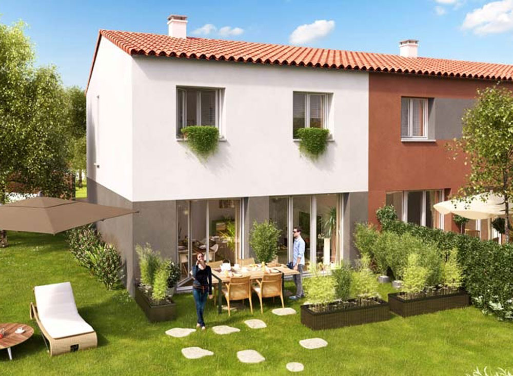 Villas estel programme neuf perpignan for Programme jardin