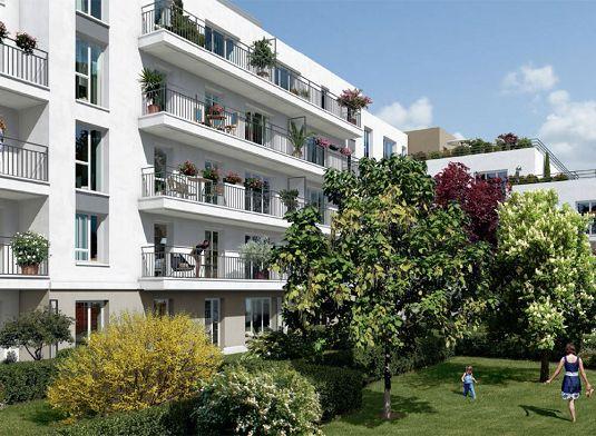 Les terrasses des aulnes programme neuf aulnay sous - Terrasse jardin immo aulnay sous bois ...