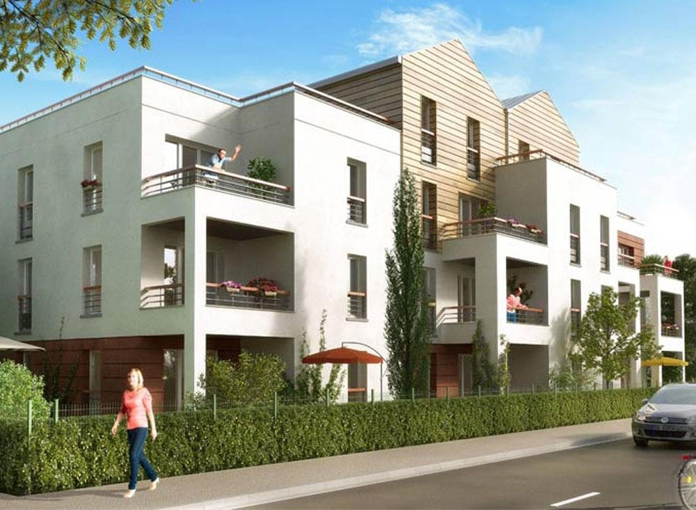 villa verde programme neuf orl ans. Black Bedroom Furniture Sets. Home Design Ideas