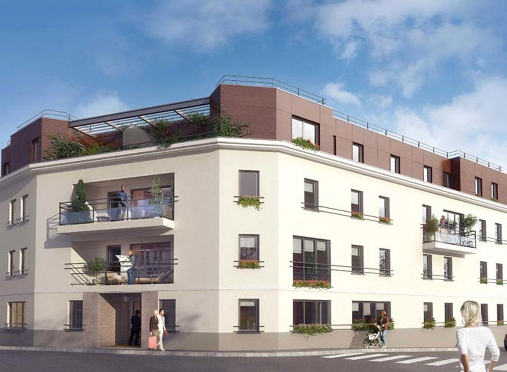 villa monceau programme neuf caen. Black Bedroom Furniture Sets. Home Design Ideas