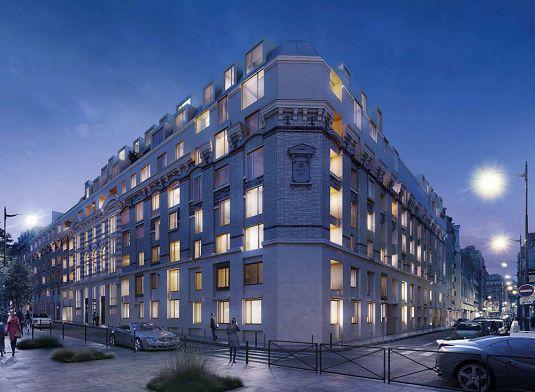 le 35 rue saint didier programme neuf paris. Black Bedroom Furniture Sets. Home Design Ideas