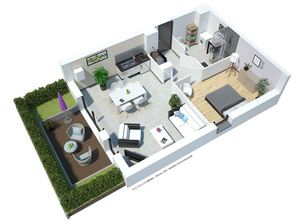 roc eden programme neuf saint malo. Black Bedroom Furniture Sets. Home Design Ideas