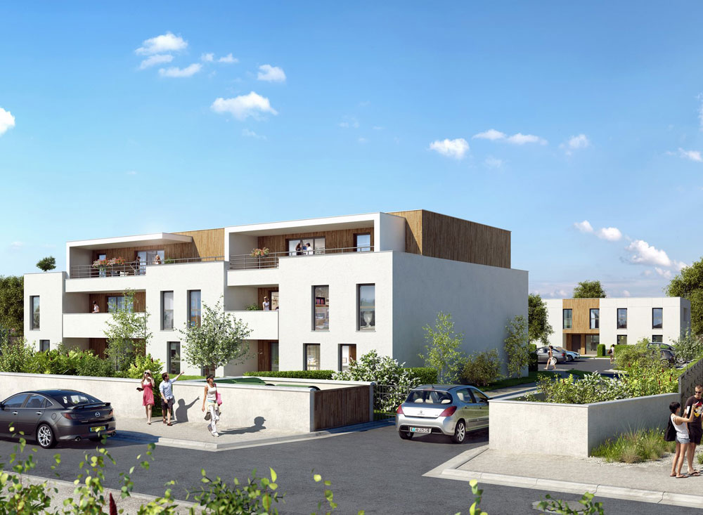 villa verde programme neuf villenave d 39 ornon. Black Bedroom Furniture Sets. Home Design Ideas