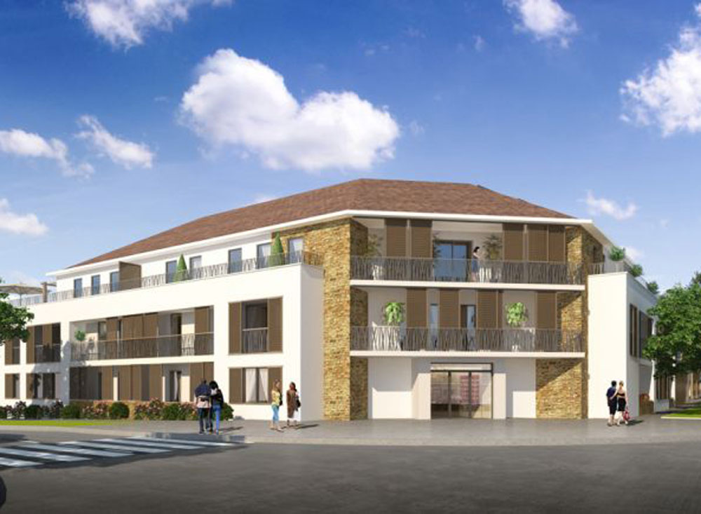 les cottages programme neuf chanteloup en brie 22 logements neufs. Black Bedroom Furniture Sets. Home Design Ideas