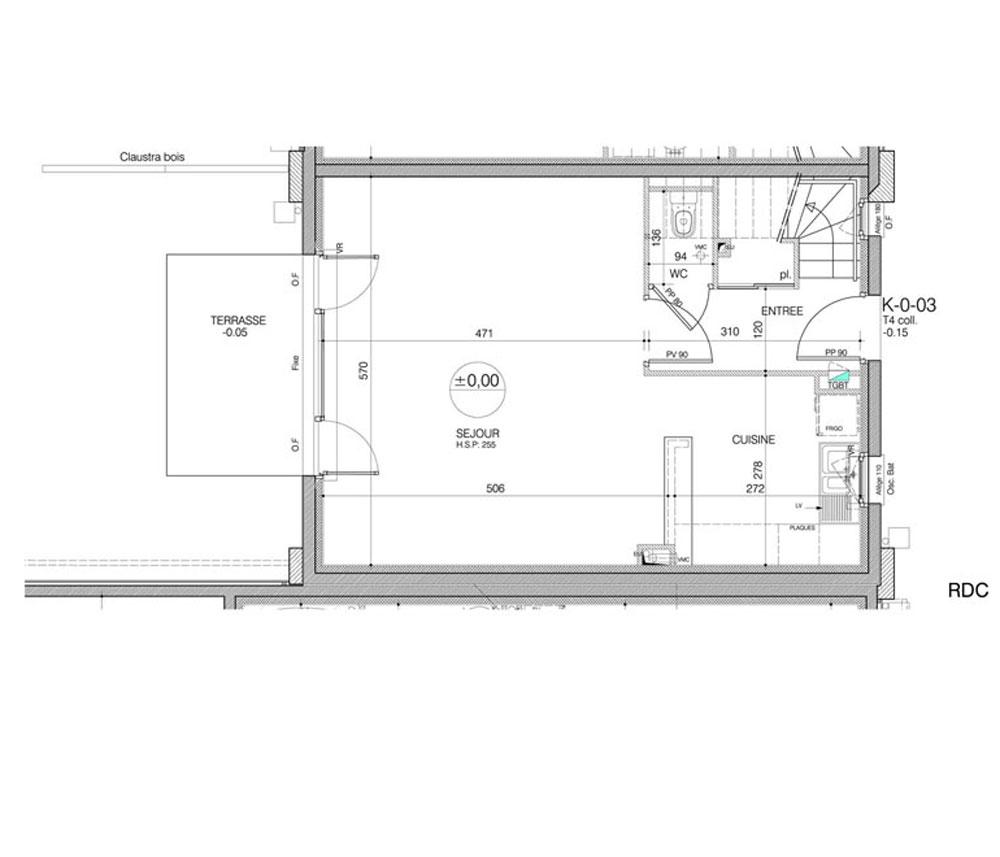 Maison n k003 les hauts de port mer t4 de m cancale for Maison neuve programme immobilier neuf