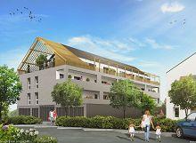 Naturéo, côté loggia : programme neuf à Saint-André-des-Eaux