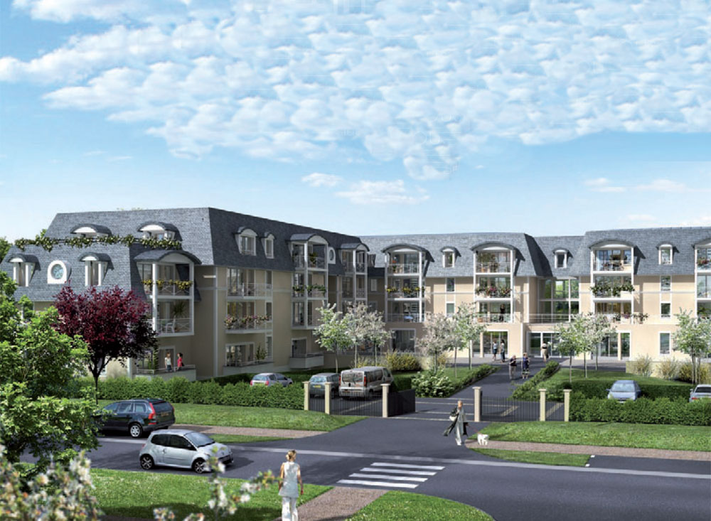 Le carrousel programme neuf cabourg 126 logements neufs for Programme logement neuf