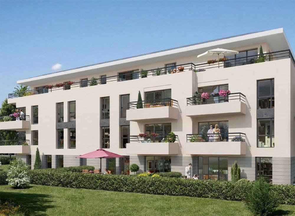 Jardins bellevue programme neuf colombes for Jardin residence