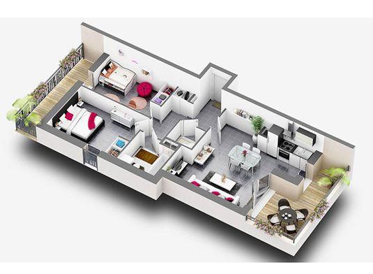 Exemple d'appartement