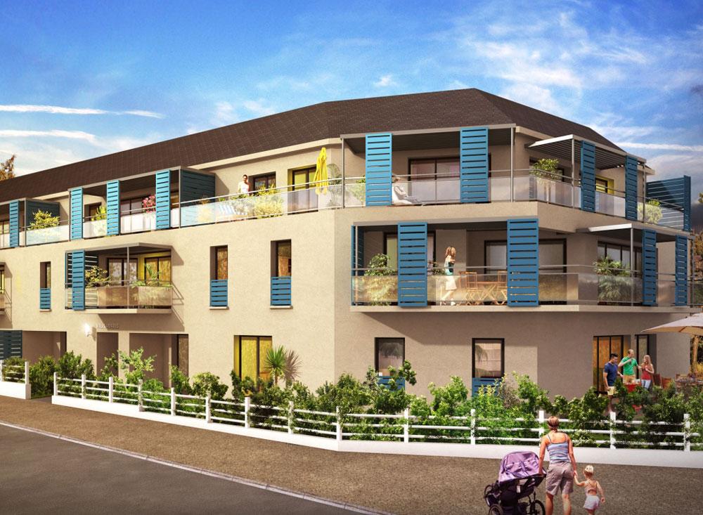 villa tamaris programme neuf pornichet. Black Bedroom Furniture Sets. Home Design Ideas