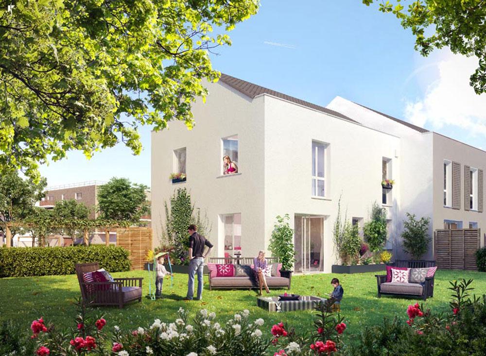 Stunning vue sur maison promoteur nafilyan u partners with for Promoteur maison