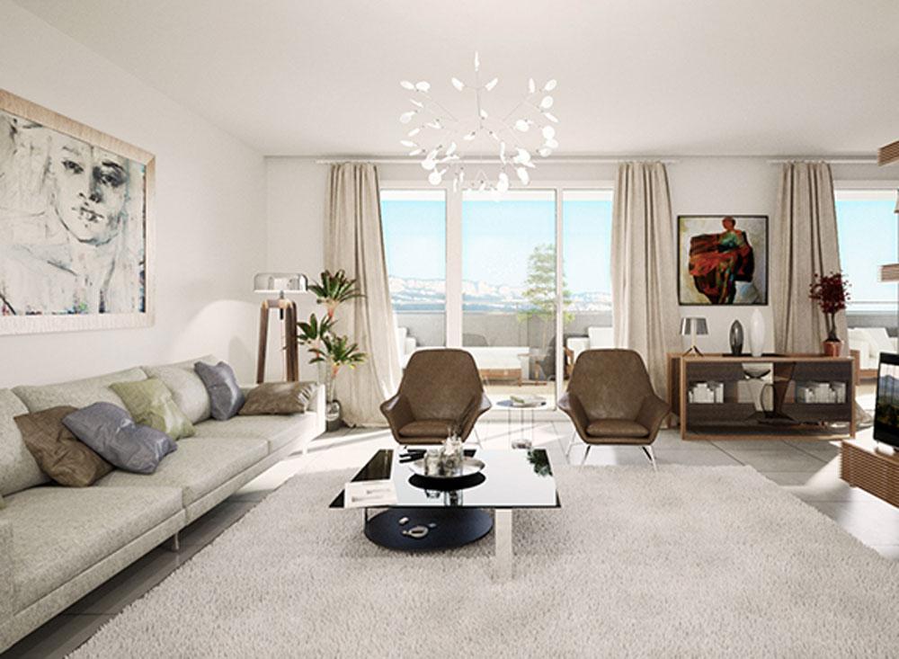le domaine d aspre programme neuf meylan. Black Bedroom Furniture Sets. Home Design Ideas