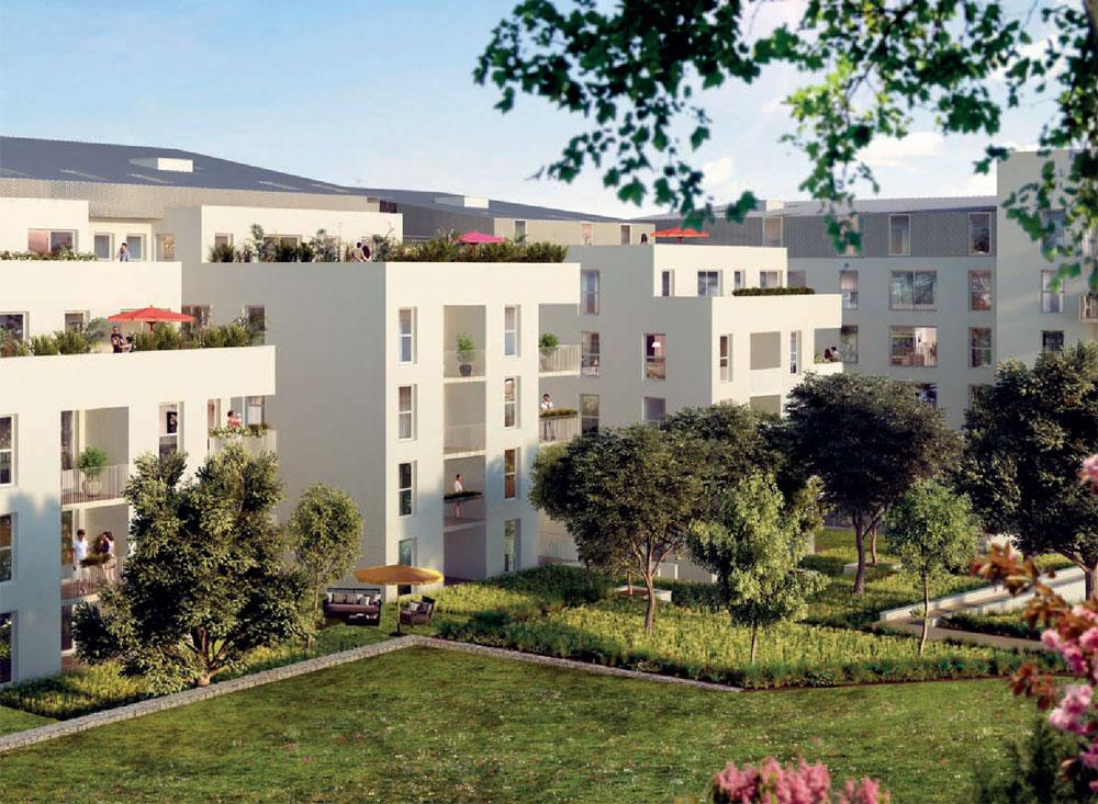 Via tolosa programme neuf toulouse for Programme jardin