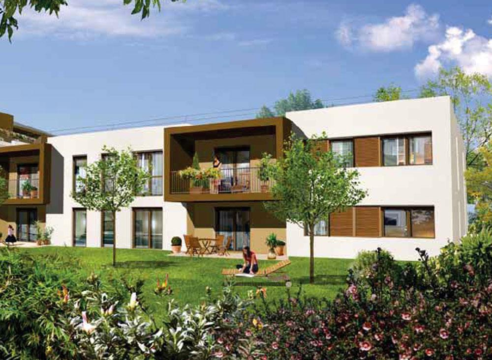 Les terrasses de capeyron programme neuf m rignac for Programme jardin