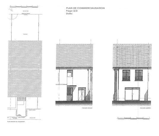 maison n i2 le domaine du bois fleuri t4 de m pluneret. Black Bedroom Furniture Sets. Home Design Ideas
