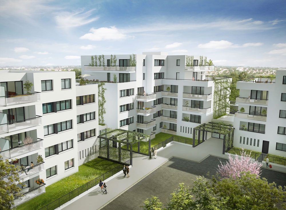 R sidence colombia programme neuf colomiers for Residence neuf