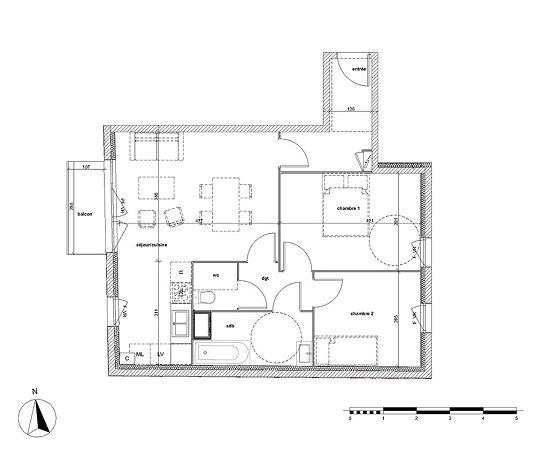 Appartement n a23 nouvel air t3 de m notre dame - Piscine notre dame de bondeville ...