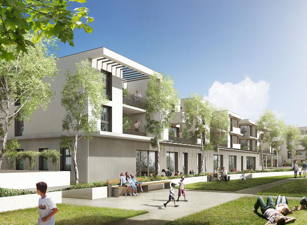 Le parc saint martin programme neuf toulouse for Programme jardin