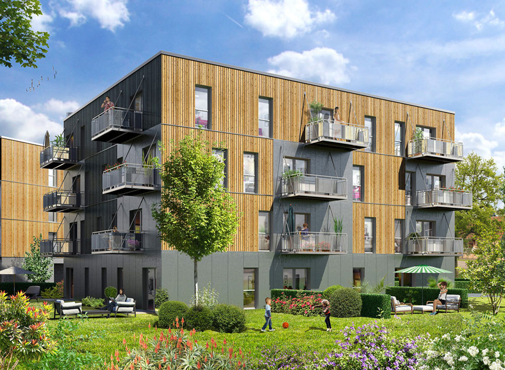 Vert duo programme neuf lys lez lannoy for Projet appartement neuf