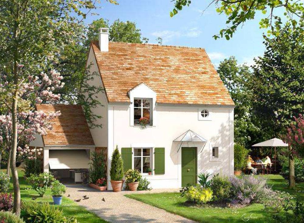 les villas du beau luisant programme neuf ablis