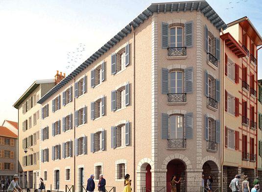 3 rue pontrique programme neuf bayonne. Black Bedroom Furniture Sets. Home Design Ideas