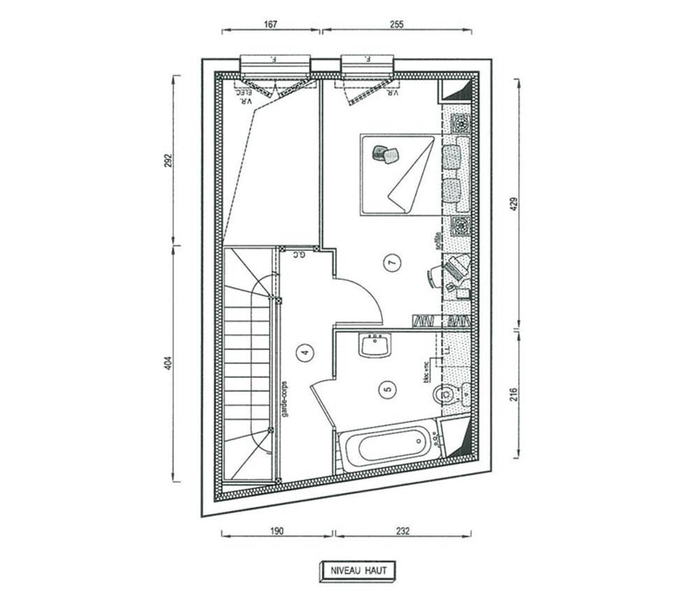 Maison n 5604 so ilonia t3 de m stains for Programme plan maison