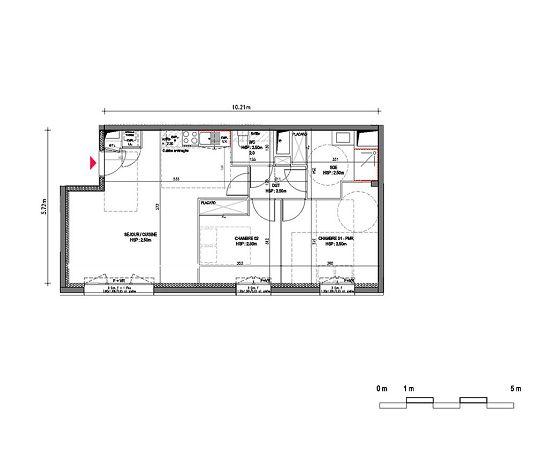 Appartement N B1001 Riveo T3 De M Bordeaux La