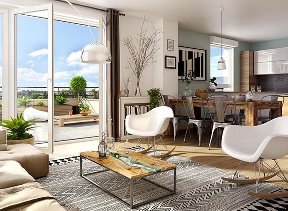 presqu ile programme neuf saint jean le blanc. Black Bedroom Furniture Sets. Home Design Ideas