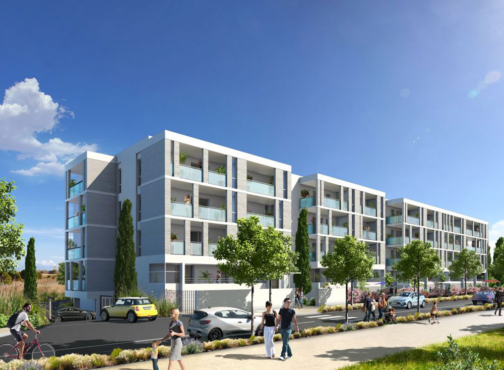 Aigue marine programme neuf s rignan for Programme appartement