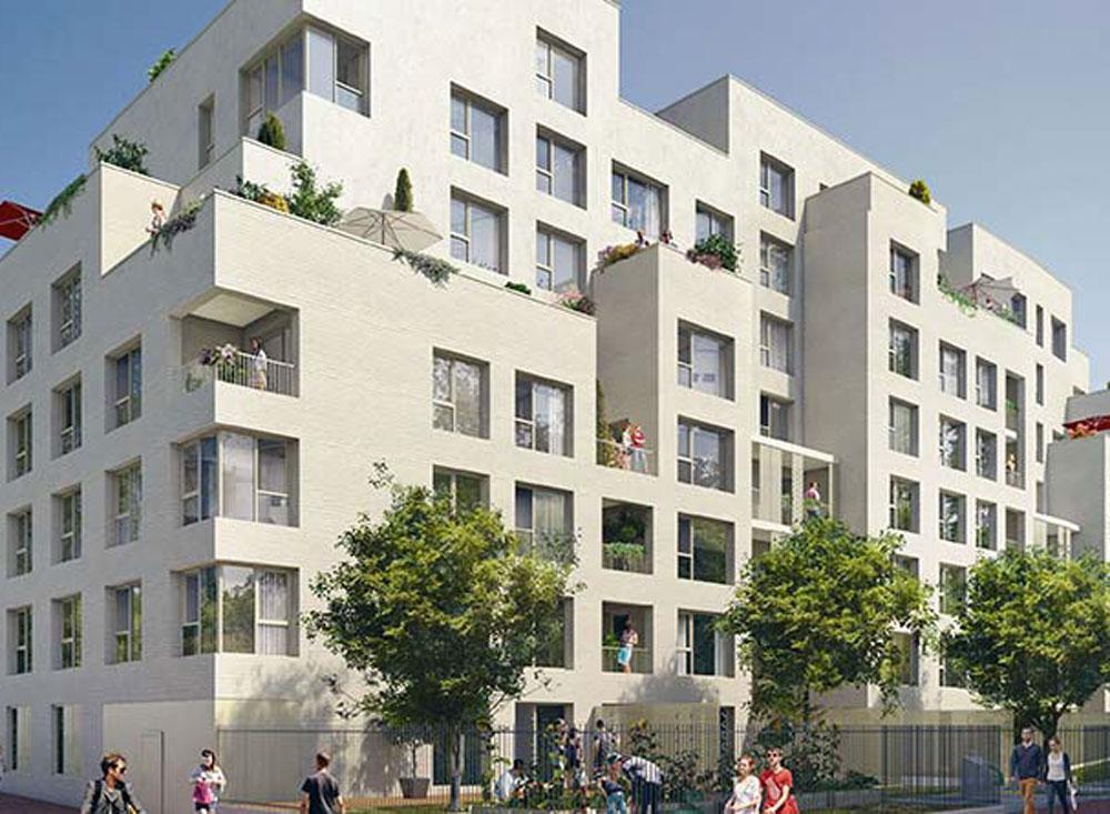 Invidia programme neuf bagneux for Programme logement