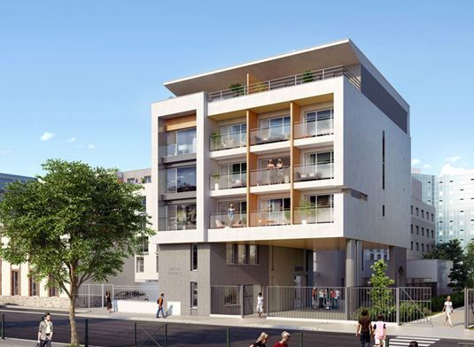 appartement n b407 campus d orves 2 t1 colombes. Black Bedroom Furniture Sets. Home Design Ideas