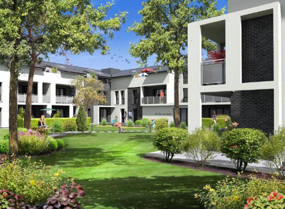 Le parc la for t programme neuf m rignac for Programme jardin