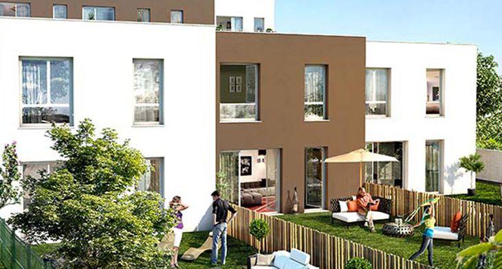 un jardin en ville programme neuf clermont ferrand. Black Bedroom Furniture Sets. Home Design Ideas