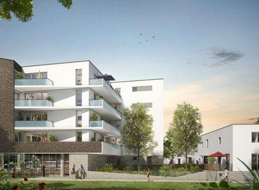 appartement n 01a204 le mas du faubourg t2 de m toulouse est secteur 4. Black Bedroom Furniture Sets. Home Design Ideas