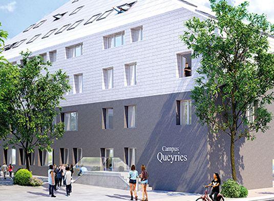 Appartement n 120 campus queyries a t1 de m for Appartement bordeaux f1